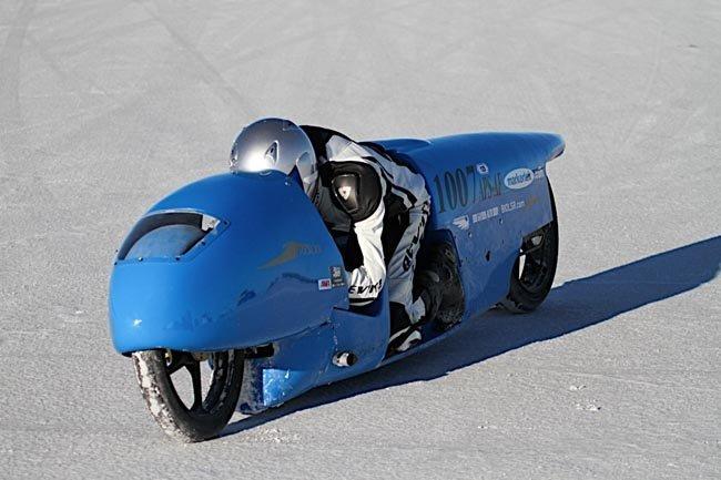 récord de velocidad en una 125 cc