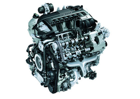 Porsche Panamera Turbo engine
