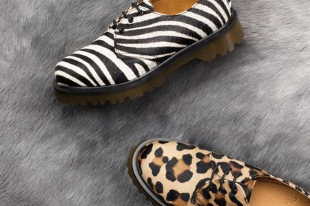 Dr Martens se suma al calzado animal con el modelo 1461