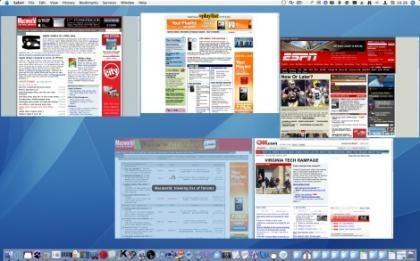 TabExposé, un Exposé para Safari