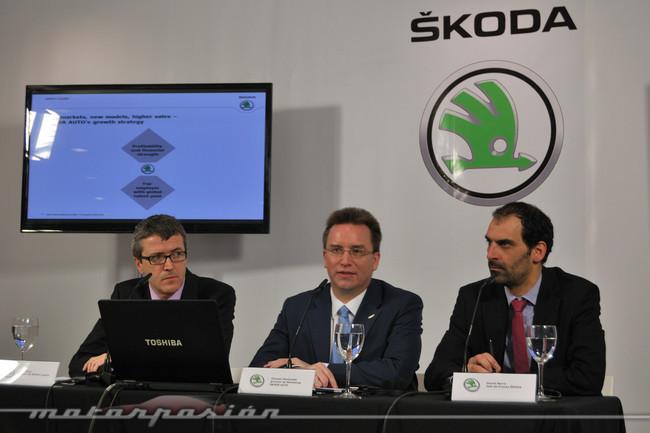 Rueda de prensa Skoda