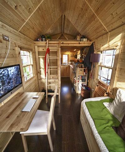 una incre ble mini casa de solo 16 metros cuadrados