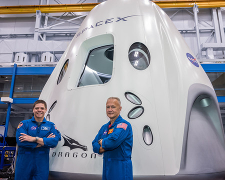 Spacex Demo 2 New Png