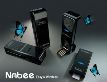 Nabee, Wireless USB para compactas Samsung