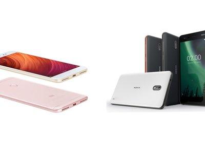 Nokia 2 y Xiaomi Redmi Note 5A Prime, así compiten en México dos de los gama baja más interesantes de 2018