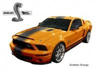 Gama de colores del Shelby Mustang GT500 Super Snake