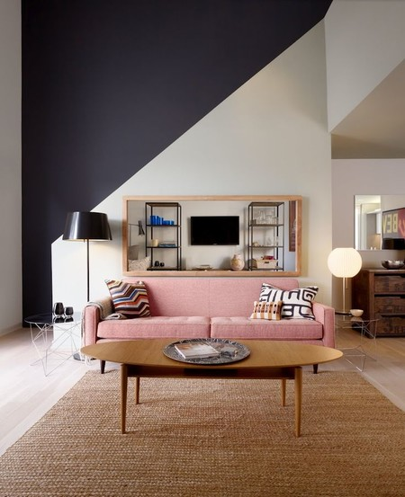 Home Editdecorating With Pink Sofa Brown Affordable Pink Sofa Under 600