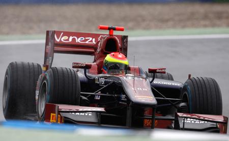 Sergio Canamasas GP2 Hockenheim 2012
