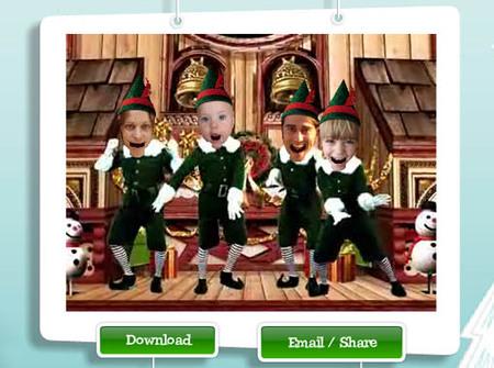 Elf Yourself: felicita la Navidad bailando como un elfo