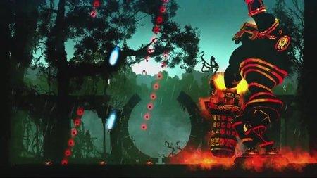 'Outland', el plataformas de acción que bebe del shoot'em up 'Ikaruga', en vídeo. Extraña mezcla