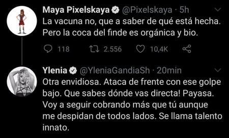 Tweet Ylenia Maya