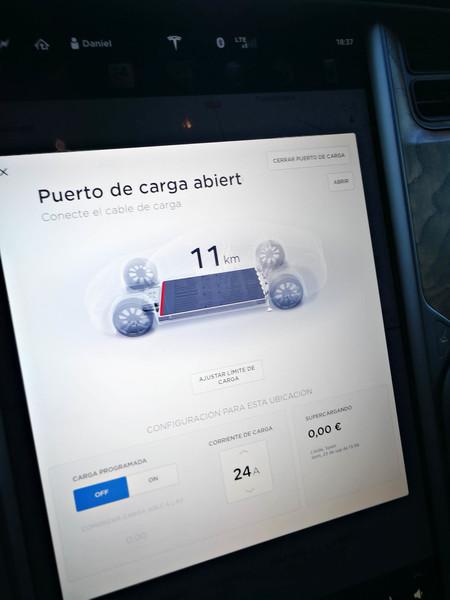 Estado batería Tesla