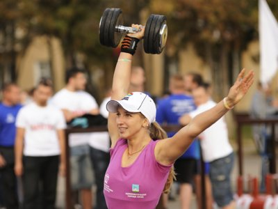Guía Crossfit (LII): one arm dumbbell power snatch