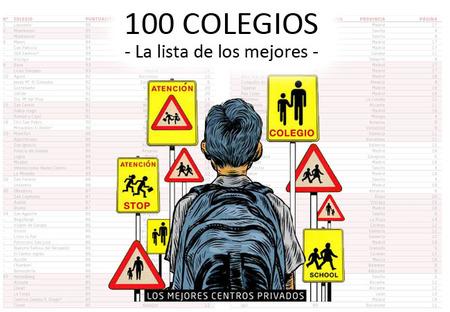 Los 100 mejores colegios para el curso 2012-13 según El Mundo: la lista de los mejores