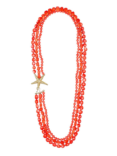 Ig Collar De Plata De Ley Y Coral Pvp 525