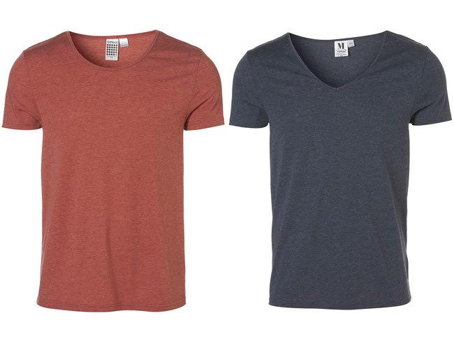 Camisetas básicas de Topman