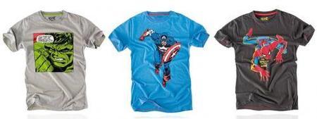 Pull and Bear y su colección de camisetas de superhéroes