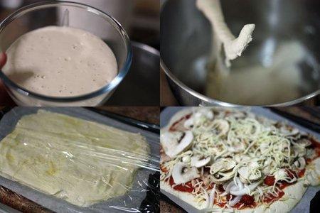 Pizza de chapata