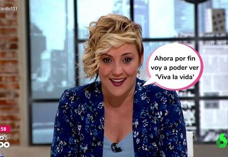 Cristina Pardo, pillada yéndose de la lengua por un micrófono abierto en el último adiós de 'Liarla Pardo' (y unas lagrimillas de despedida)