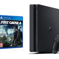 En PcComponentes, te puedes llevar la PS4 Slim de 500 GB con Just Cause 4 de regalo por 199 euros