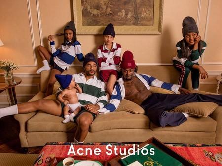 Estos padres homosexuales causan sensación en la nueva campaña de Acne Studios