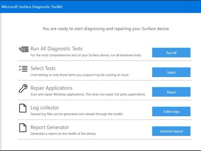Microsoft mira al entorno empresarial con una utilidad enfocada en la solución de problemas en la familia Surface
