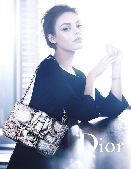 Mila Kunis campaña Dior