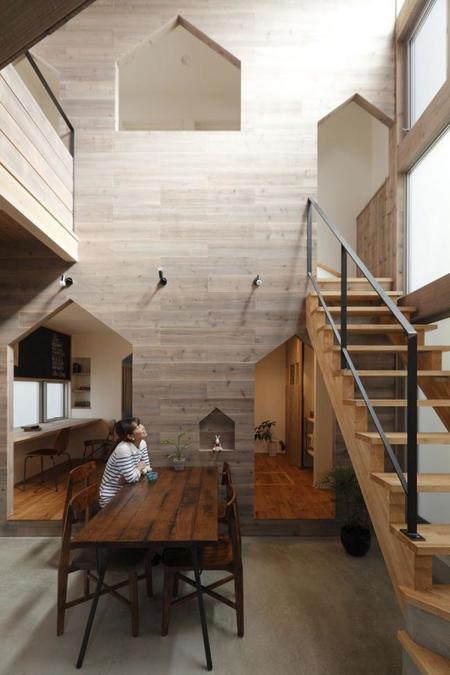 casa Hazukashi de Alts Design Office