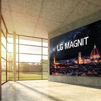 LG da el salto a la tecnología microLED con MAGNIT, su primera pantalla modular con hasta 163 pulgadas y resolución 4K