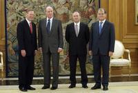 Alan Mulally ha traído buenas noticias durante su visita a España