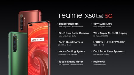 Realme X50 Pro 5g 10