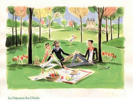 Relais & Châteaux organiza picnics para comer descalzos sobre la hierba