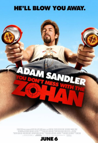 Sandler como Zohan