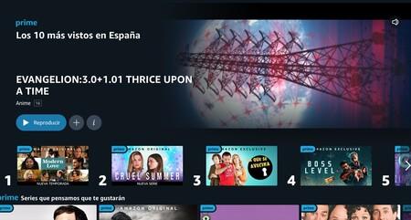 Amazon Prime Video estrena sus tops de lo más visto: así puedes curiosear en los éxitos de la plataforma