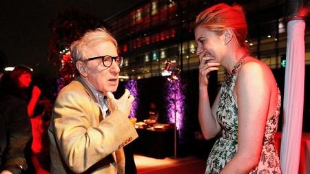 Woody Allen y Greta Gerwig