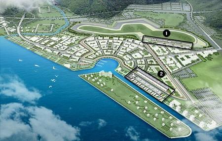 Nuevo circuito urbano para 2010... ¡en Corea!