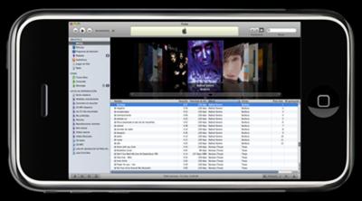 iTunes para móviles y gadgets WiFi