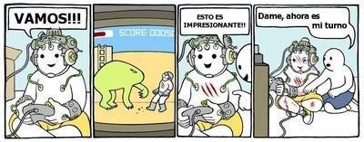 ¿Los juegos del futuro?, espero que no.