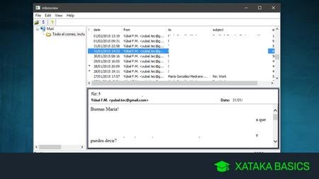 Formato MBox: qué es y cómo abrirlo en tu PC para leer tus