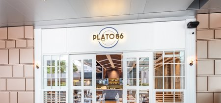 Inspiración mediterránea de diseño para el nuevo restaurante de Alvin Leung en Hong Kong