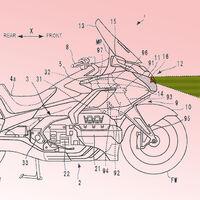 La Honda Gold Wing tendrá control de crucero por radar para ponerse al nivel de BMW, según estas patentes