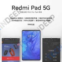 Xiaomi volverá a los tablets tras el Mi Pad 4 Plus: el Redmi Pad 5G con pantalla de 90Hz debutará el 27 de abril