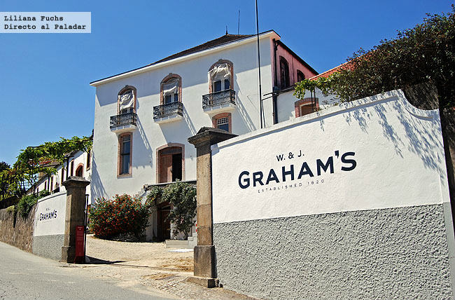 Bodegas Graham's en Oporto
