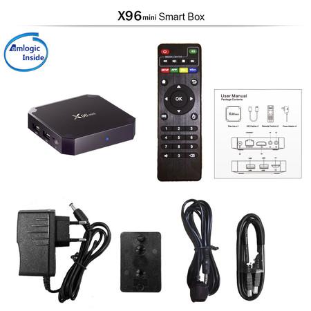 Transformar tu viejo televisor en un Smart TV con Android Nougat sólo cuesta 21 euros con esta TV Box X96 Mini