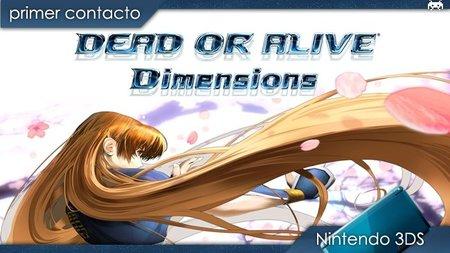 'Dead or Alive Dimensions'. Primer contacto