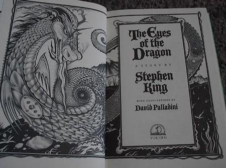 Ojos dragon libro