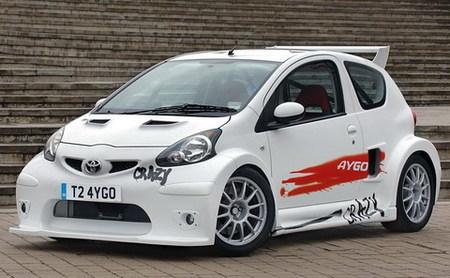 Toyota Aygo Crazy: un Aygo imposible con 200 caballos