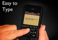 Spike, una funda protectora para el iPhone con teclado físico