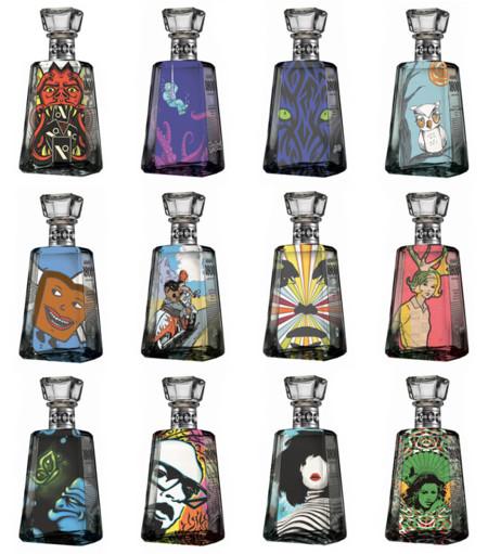 Botellas conmemorativas 1800