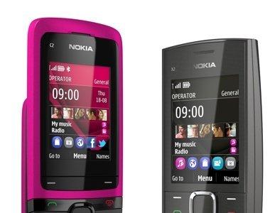 Nokia C2-05 y Nokia X2-05, los nuevos terminales económicos de Nokia anunciados para finales de año